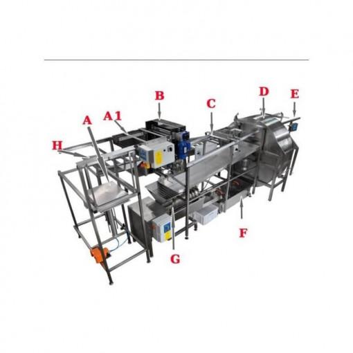 Linie Completa automata pentru extractia mierii