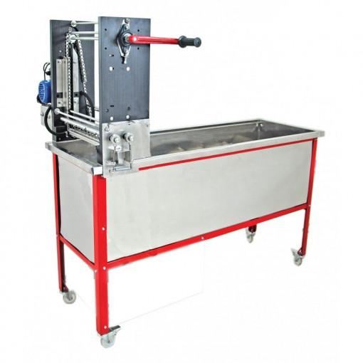 Masina de descapacit rame cu cutite electrice alimentare manuala Lyson