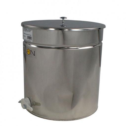 Maturator miere 150 l inox cu canea din plastic Lyson