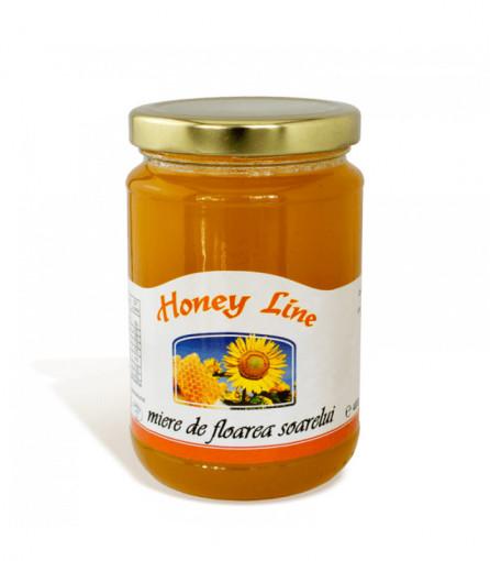 miere de albine de floarea soarelui apisrom 400 grame