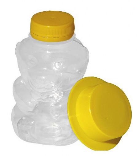 Ursulet din plastic pentru miere 250 gr
