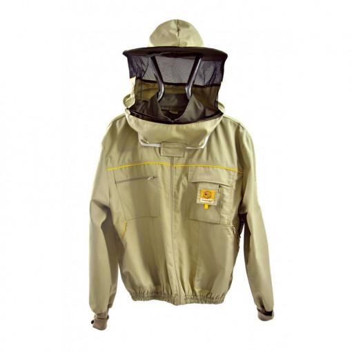 Bluza cu masca din bumbac Lyson Premium Line