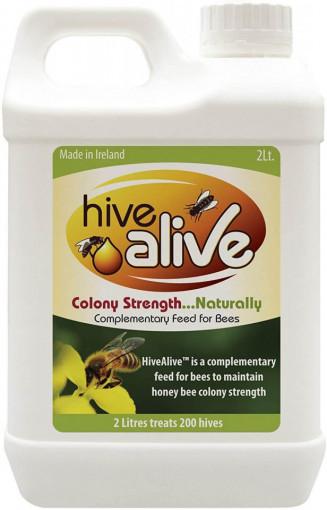 hive alive supliment natural pentru albine 2 litri