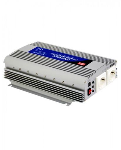 Invertor electric 12V/220V, 1.000W