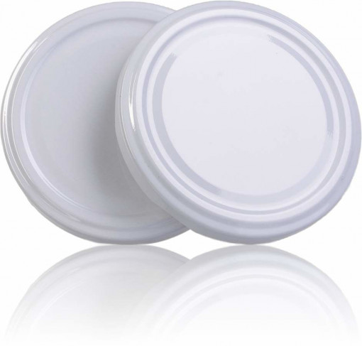 Capac pentru borcane de 280 si 314 de ml - ALB
