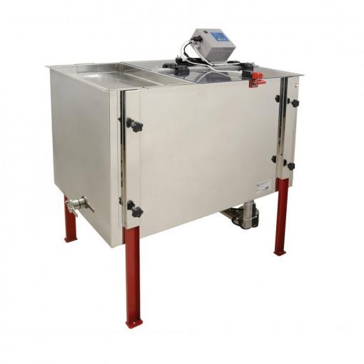 Centrifuga tangentiala electrica 220V 4 rame 1/1 cu tava de descapacit si filtru pentru miere Lyson