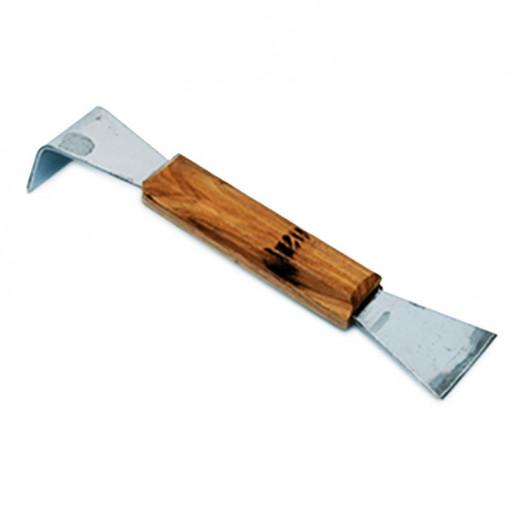 Dalta din inox cu maner din lemn