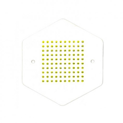 placa de marcat matcile cu opalit galben