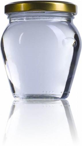Borcan pentru ambalat mierea sau alte sosuri 212ml - Amfora IT