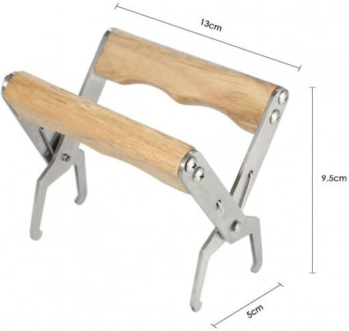 Cleste cu maner din lemn