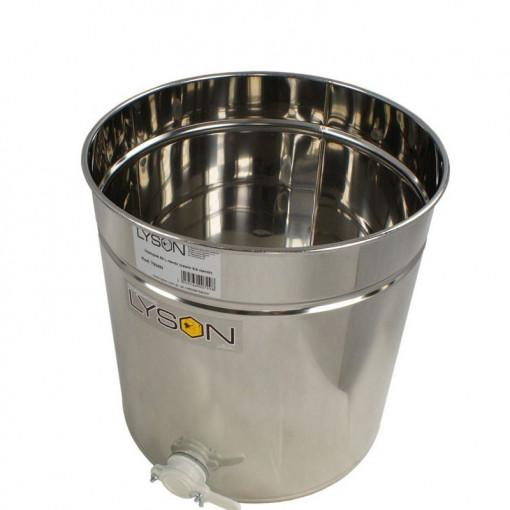 Maturator miere 70 l inox cu canea din plastic Lyson