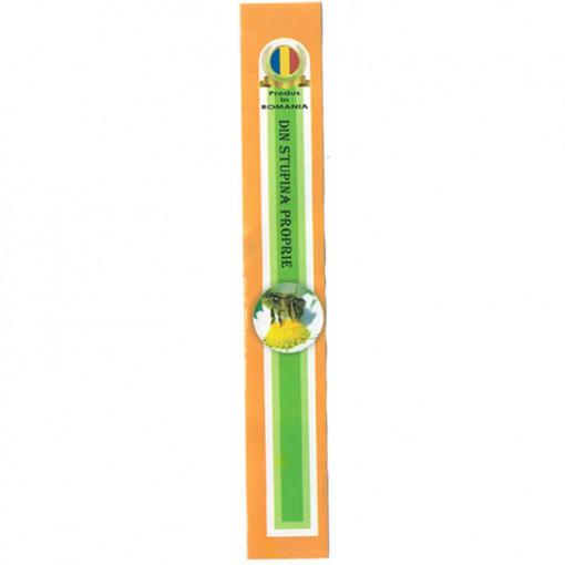 sigiliu pentru borcanele de miere verde portocaliu