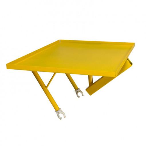 Carucior pentru 1 stup cu platforma