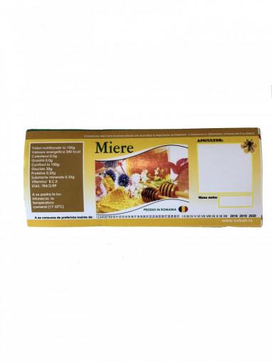 eticheta de miere pentru borcan