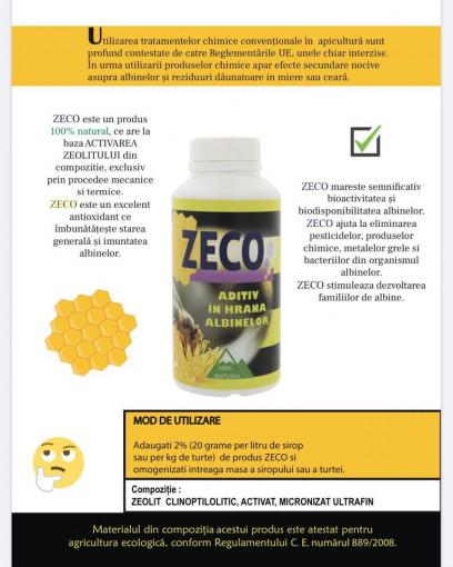 ZECO - Aditiv pentru hrana albinelor cu ZEOLIT 500gr