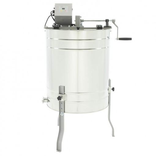 centrifuga apicola 4 rame electrica si manuala lyson optima line