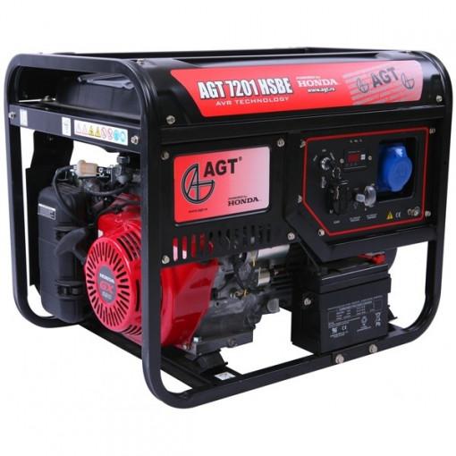 Generator AGT - 3501 HSB TTL 2.8 kW, Honda, GP200, 6.5 CP, 15 l, pornire mecanica