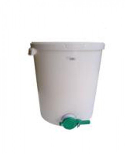 Maturator miere polipropilena, 10l, cu canea plastic