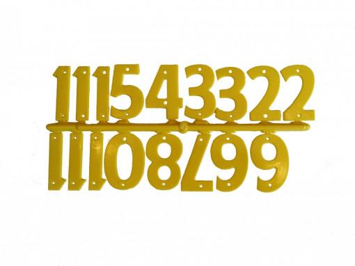 Numere stupi galbene