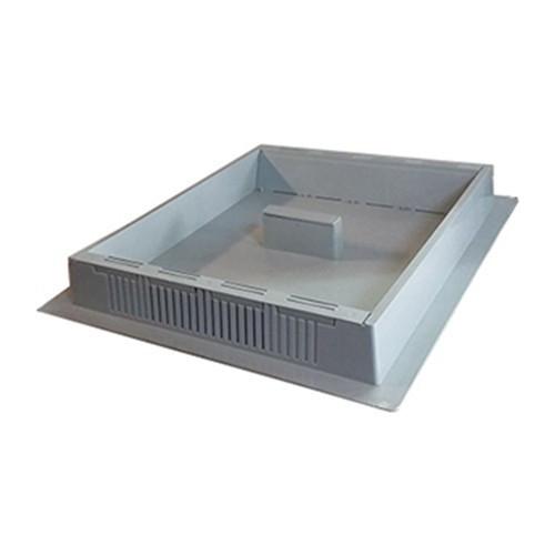 Podisor cu hranitor din plastic pentru 10 rame capac inclus