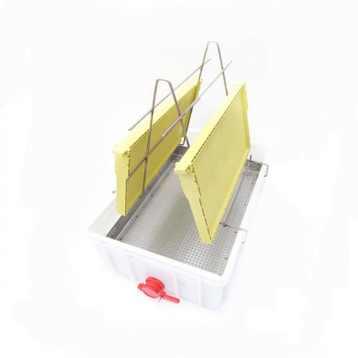 tava de descapacit 20 de cm cu filtru inox si canea plastic