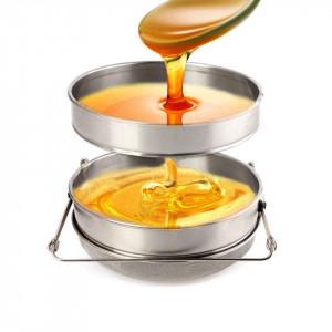 Sita miere din inox cu fund bombat 20 cm
