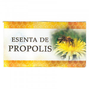 Eticheta Esenta de Propolis 45 x 25mm