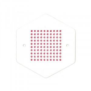 Placute pentru marcarea matcilor cu opalit - Rosu