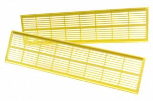 Grila inactiva pentru sertarul colectorului de polen 390mm x 100mm