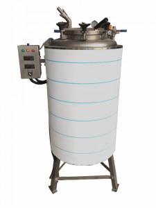 Sterilizator sub presiune pentru ceara 150kg