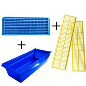 Kit colector polen tip salaj ( sertar, gratie activa, gratie sertar)