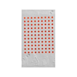 Cartela cu placute de opalit pentru marcat matcile - Rosu