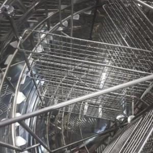 Centrifuga 6 casete 1/1 reversibile sau 24 rame 1/1 radiala 1000 mm Fullautomata Lyson