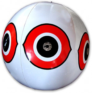 Balon sperietor pasari daunatoare (anti grauri, anti porumbei, anti ciori, anti vrabii, anti prigorii) ALB