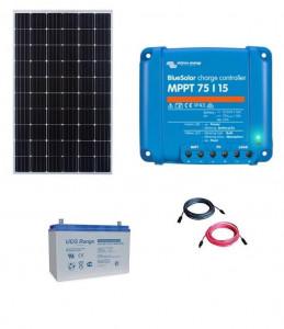 Kit fotovoltaic solar cu panou de 300w