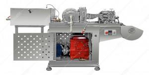 Masina pentru prelucrare foita de ceara la rece cu bazin de 500kg cu 2 masini de formare a rolelor de ceara si 2 iesiri
