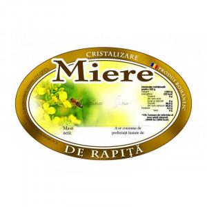 Eticheta miere de Rapita 95X62 mm