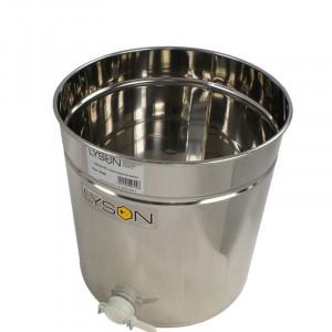 Maturator miere 70 l inox cu canea din plastic fara manere Lyson