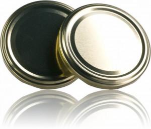 Capac pentru borcane de 106 si 120 de ml - auriu