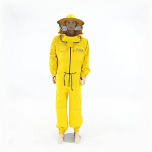 Combinezon apicol din bumbac cu aerisire Lyson Premium Line