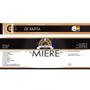 """Eticheta + Sigiliu 150x55 mm """"De Rapita"""""""