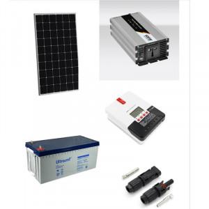 Kit fotovoltaic solar Off-Grid cu panou de 600w cu invertor 1000w
