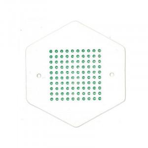 Placute pentru marcarea matcilor cu opalit - Verde