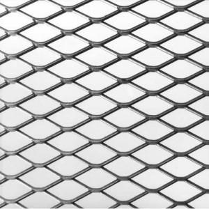 Plasa aluminiu expandata antivarroa gol romb grosime 0.5mm