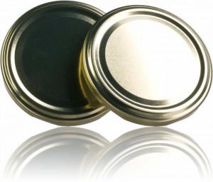 Capac pentru borcane de 106, 156 si 120 de ml - auriu
