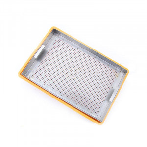 Tava de descapacit din plastic 10cm - cu filtru inox fara canea
