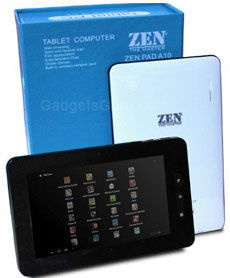Zen Pad A10 Android Tablet images