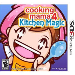 Nintendo 3DS Cooking Mama 4 Kitchen Magic images