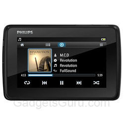 Philips GoGear Tap 4.3 4GB MP3 Video Player images