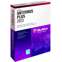 McAfee AntiVirus Plus 2013 1PC 1Year images